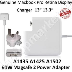New Genuine Original APPLE MacBook Air Magsafe 2 45W Power Adapter Charger A1436