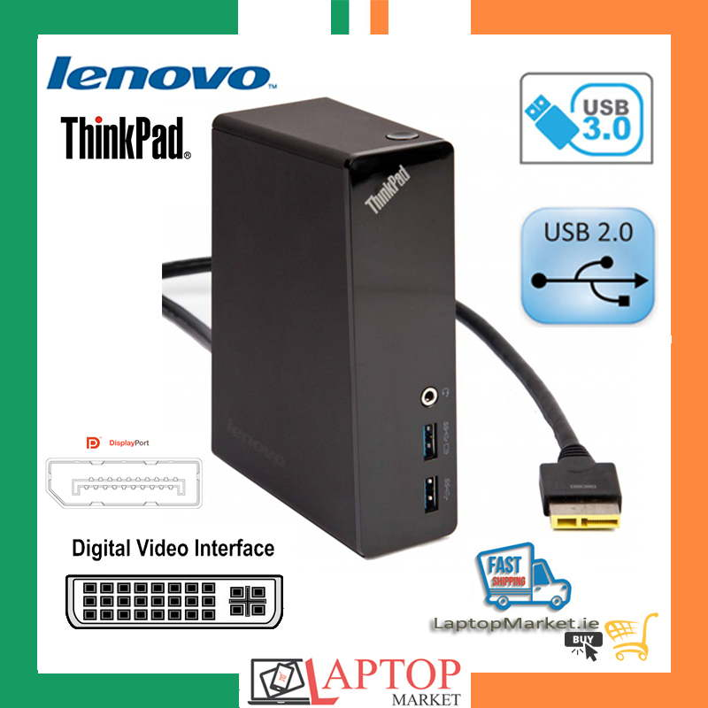Lenovo ThinkPad E440 E455 Onelink Pro Docking Station Port USB 3 0 DVI