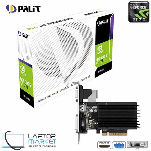 New Graphic Card Palit NVIDIA GT710 2GB Memory VGA DVI HDMI