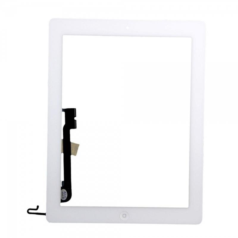 New Apple iPad 4 White Touch Screen Front Glass Digitizer A1458 A1460
