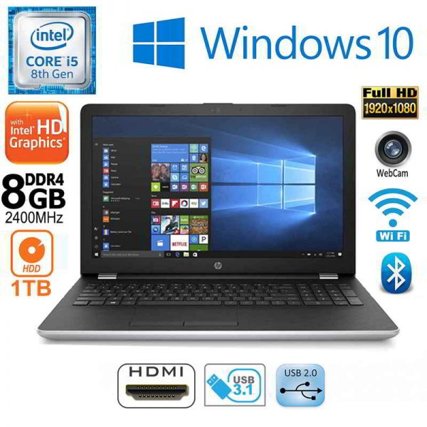 New HP NoteBook 15-BS158SA Intel i5