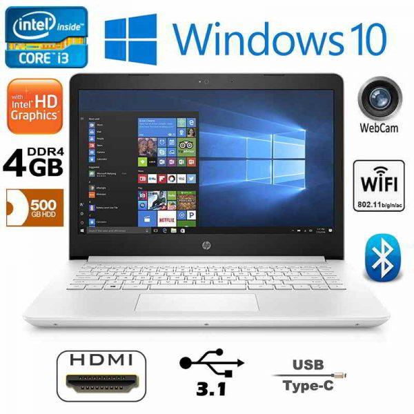 New HP Notebook 14-BP060SA Intel i3 White