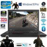 Like New Lenovo ThinkPad P50 Intel Xeon Quad Core E3 32GB RAM
