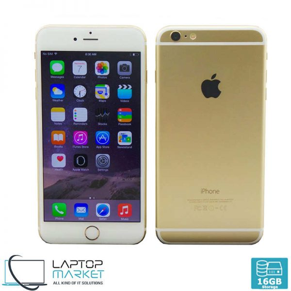 Apple iPhone 6 16GB Gold, 1GB RAM, A8 Chip with Dual-Core Processor, 8MP Primary and 1.2MP Secondary Camera