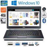 Dell Latitude E6420 Intel i5 4GB RAM 500GB HDD DVD-RW HDMI Win10