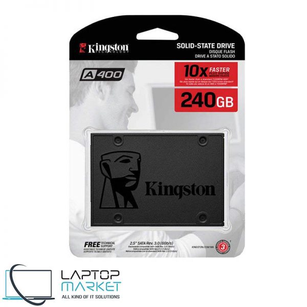 New Sealed A400 Kingston 2.5-inch Solid State Drive 240GB SATA SSD