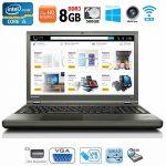 Lenovo ThinkPad T540p Intel i5 8GB RAM 500GB HDD DVD-RW VGA USB3.0 Win10