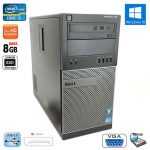 Dell Optiplex 790 Tower Intel i5 Quad Core 8GB RAM 240GB SSD DVD-RW