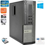 Dell Optiplex 990 SFF Intel i5 8GB RAM 1TB HDD DVD-RW Display Port Win10
