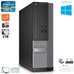 Dell OptiPlex 3020 Intel i5 8GB RAM 1TB HDD DVD-RW Display Port Win10