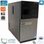 Dell Optiplex 990 Desktop PC Intel i7 8GB RAM 120GB SSD DVD-RW Win10