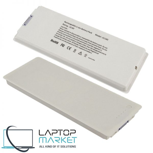 New Battery A1185 MA561 MA561LL/A MA561J/A For Apple MacBook A1181 MA254 MA701 MB061 MB402 White