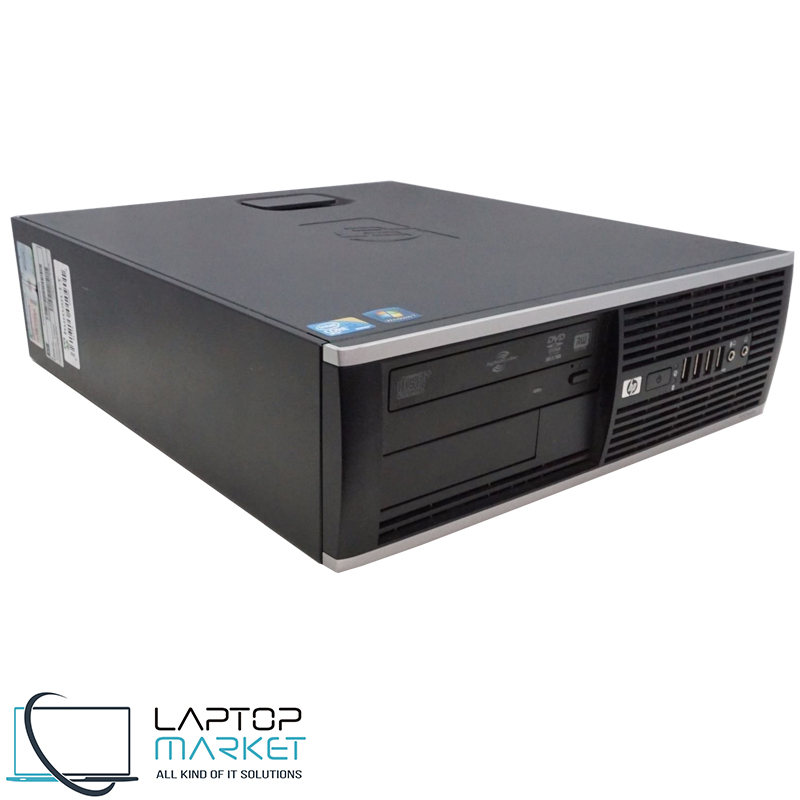 HP Compaq 8100 Elite SFF Intel i5 4GB RAM 250GB HDD DVD-RW VGA Win10