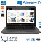 New HP 240 G6 Notebook PC, 14″ Black HD Laptop, Intel® Core i5 Processor, 18GB RAM Memory, 256GB Solid State Drive, Intel HD Graphics, Bluetooth, SD Card Reader, HDMI, HD Webcam, WiFi, New Battery, Windows 10