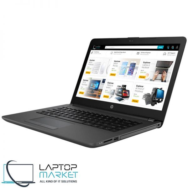 New HP 240 G6 Notebook PC, 14″ Black HD Laptop, Intel® Core i5 Processor, 18GB RAM Memory, 256GB Solid State Drive, Intel HD Graphics, Bluetooth, SD Card Reader, HDMI, HD Webcam, WiFi, New Battery, Windows 10 (2)