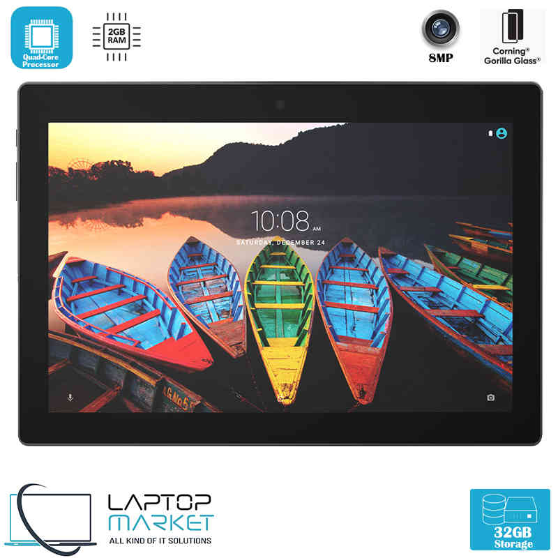 New Tablet Lenovo Tab3 10 Plus 32GB Quad Core 2GB RAM Full HD Display Black