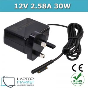 New Charger Adapter 12V 2.58A 30W For Microsoft Surface Pro 3 Pro 4 Series UK Plug