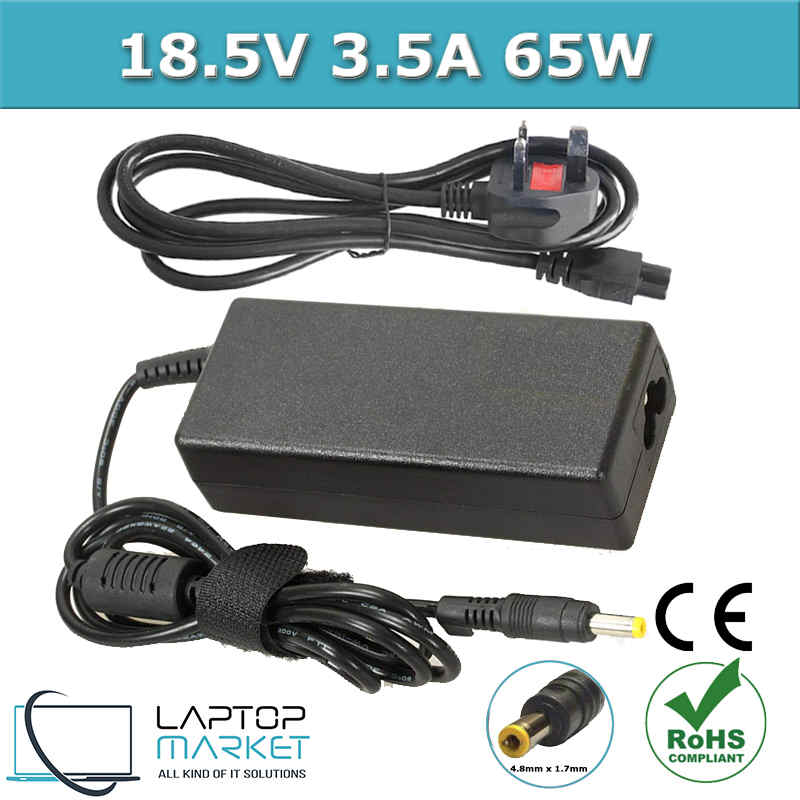 New Laptop Battery Charger 65W For HP Pavilion Compaq Armada Presario