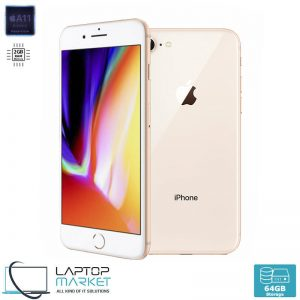 Apple iPhone 8 64GB Gold, 2GB RAM, Apple A11 Bionic Chip with Hexa-Core Processor