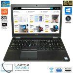 Dell Latitude E5570, Full HD Laptop, Intel i5 Processor, 8GB RAM, 240GB SSD, HDMI, Webcam, WiFi, Backlit Keyboard, Windows 10