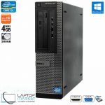 Dell Optiplex 390 DT, Desktop PC, Intel Core i3 Processor, 4GB RAM, 500GB HDD, DVD-RW, VGA Port, HDMI, Windows 10 Pro