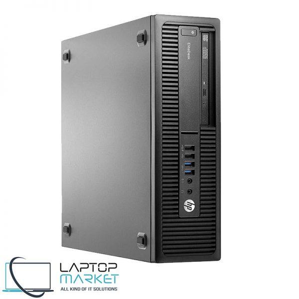 HP EliteDesk 800 G2 SSF PC, Intel Core i5 Processor, 8GB RAM, 240GB SSD, DVD-RW, VGA Serial Display Port, Windows 10 Pro