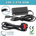 New Laptop Battery Charger 19V 2.37A 45W With 4.0mm x 1.35mm Charging Pin For Dell Asus VivoBook ZenBook Series