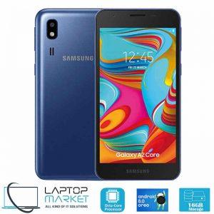 New Unlocked Samsung Galaxy A2 Core SM-A260G/DS, Blue Smartphone, Octa-Core Processor, 1GB RAM, 16GB Storage