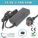 New Laptop Battery Charger 19.5V 3.34A 65W With 4.5mm x 3.0mm Charging Pin For Dell XPS Inspiron Latitude Vostro Series