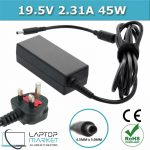 New Laptop Battery Charger 19.5V 2.31A 45W With 4.5mm x 3.0mm Charging Pin For Dell XPS Inspiron Vostro Series