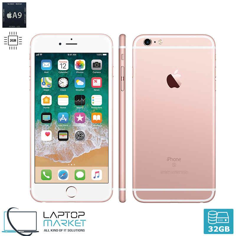 Apple iPhone 6s Plus 32GB Rose Gold A9 Dual-Core 2GB RAM Unlocked
