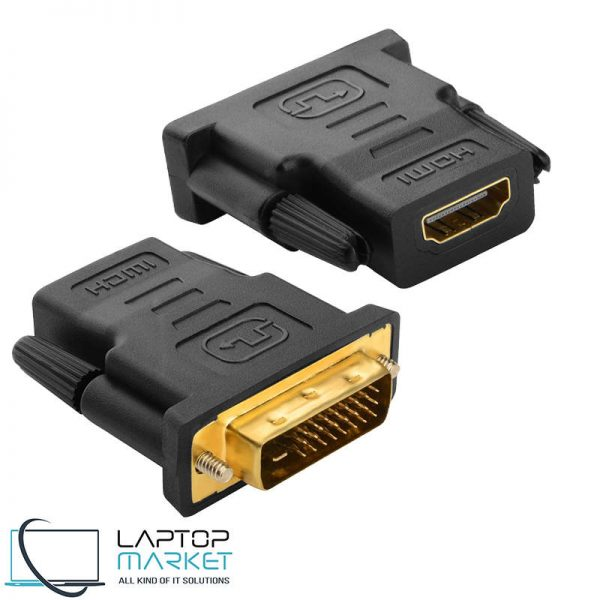 Brand New DVI-D Male To HDMI Female Gold Plated Adapter Connector Converter