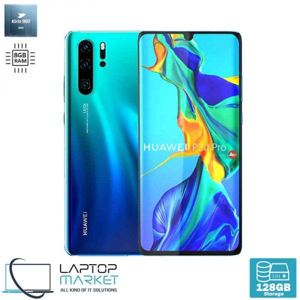 "Brand New Sealed Huawei P30 Pro, Crystal 6.47"" Smartphone, Octa-Core Processor, 8GB RAM, 128GB Storage, Quad 40MP Camera"