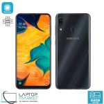Brand New Boxed Samsung Galaxy A30 SM-A305FN/DS, Black Smartphone, Octa-Core Processor, 4GB RAM, 64GB Storage, Dual 16MP Camera