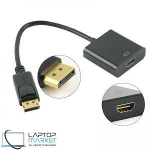 New High-Quality DP to HDMI Converter, Display Port Male to HDMI Female Converter Adapter