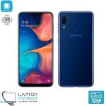 Brand New Boxed Samsung Galaxy A20 SM-A205F/DS, Deep Blue Smartphone, Octa-Core Processor, 3GB RAM, 32GB Storage