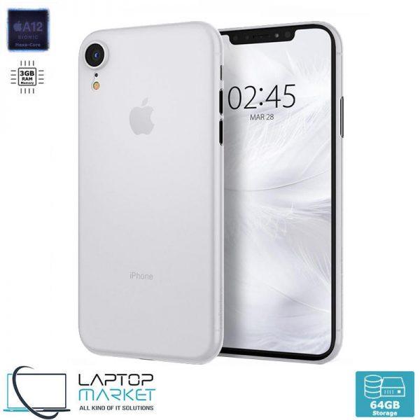 Brand New Apple iPhone XR 64GB White, 3GB RAM, Apple A12 Bionic Chip with Hexa-Core Processor, 12MP Camera, Liquid Retina HD Display