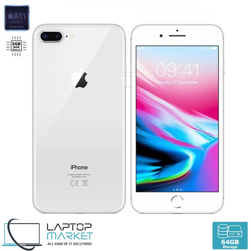 Apple iPhone 8 Plus 64GB White Hexa-Core 3GB RAM 12MP Unlocked