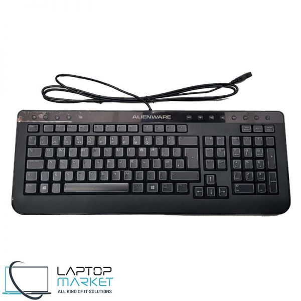 Brand New Dell Alienware SK-8165 KXP9G Slim USB Wired UK Layout Keyboard