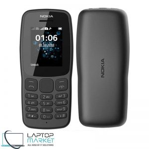 Brand New Boxed Nokia 106 Black, GSM Dual-SIM Cellular Phone, Flashlight, 65K Colors