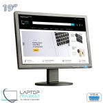 """Cheap 19"""" LCD Widescreen Monitor, VGA Port, For Desktop PC, Mix Brands HP Acer Dell"""