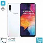 Brand New Boxed Samsung Galaxy A50 SM-A505/DS, White Smartphone, Octa-Core Processor, 4GB RAM, 128GB Storage, Triple 25MP Camera