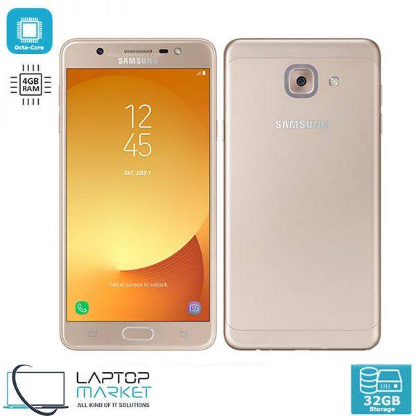 Brand New Boxed Samsung Galaxy J7 Max, Gold Smartphone, Octa-Core Processor, 4GB RAM, 32GB Storage, 13MP Camera, LED Flash