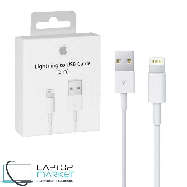 Brand New Genuine Apple Lightning to USB White Cable 2m For iPhone iPad AirPods Mac