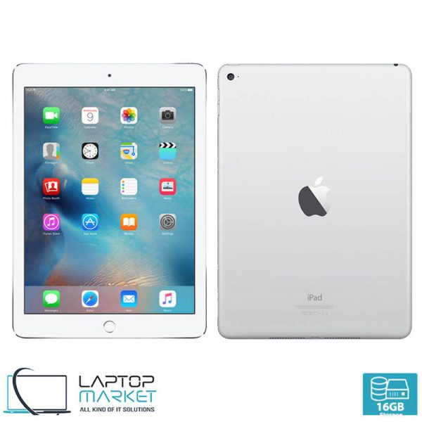 Apple iPad Air 1, Silver Tablet, 16GB Storage, 1GB RAM Memory, 5MP Camera, WiFi