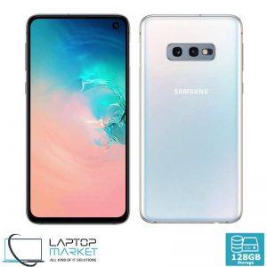 Brand New Boxed Samsung Galaxy S10e, Prism White Dual SIM Smartphone, Octa-Core Processor, 6GB RAM, 128GB Storage, Dual 12MP Camera