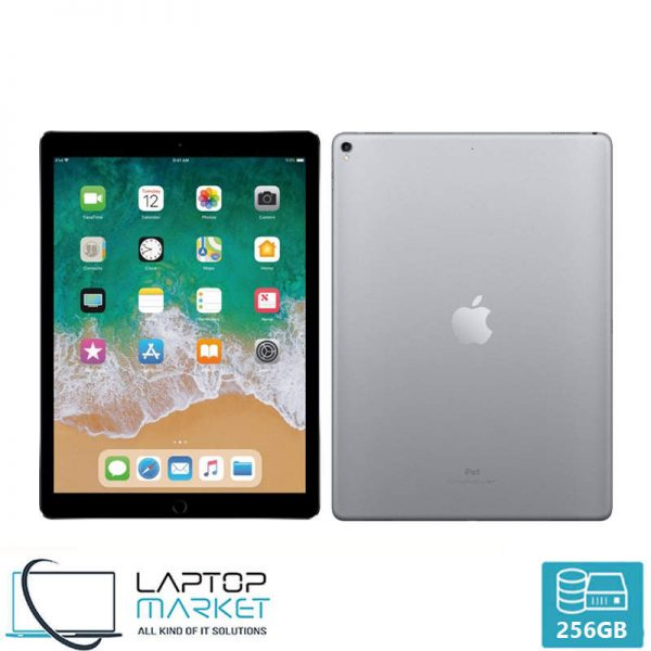 "Apple iPad Pro 2nd Gen, 12.9"" MultiTouch Tablet, 256GB Storage, 4GB RAM Memory, 12MP Camera, WiFi"