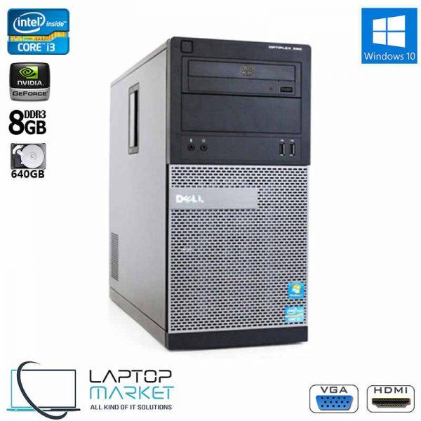 Dell Optiplex 390, Gaming Desktop PC, Intel® Core™ i3 Processor, 8GB RAM Memory, 640GB Hard Drive Disk, 2GB Nvidia GeForce Graphics