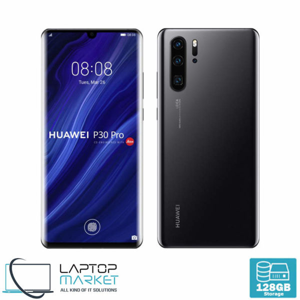 "Brand New Sealed Huawei P30 Pro VOG-L29, Black 6.47"" Smartphone, Octa-Core Processor, 8GB RAM, 128GB Storage, Quad 40MP Camera"