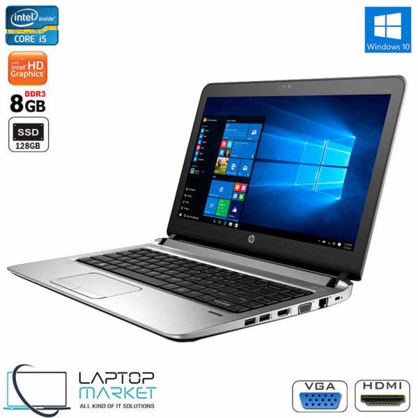 "HP EliteBook 430 G3, 14"" HD Laptop, 6th Gen Intel® Core i5 Processor, 8GB RAM Memory, 128GB Solid State Drive"